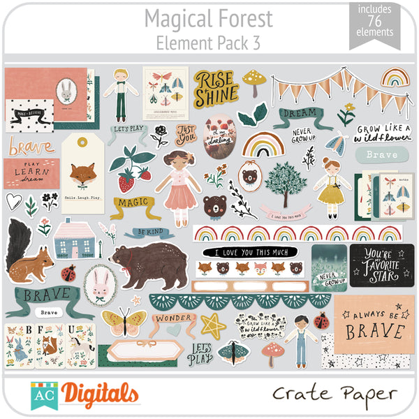 Magical Forest Element Pack 3
