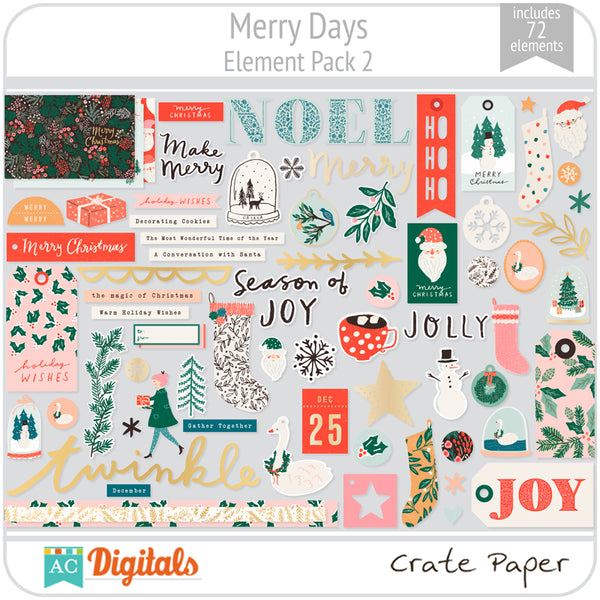Merry Days Element Pack 2