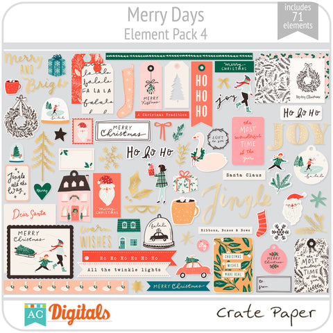 Merry Days Element Pack 4