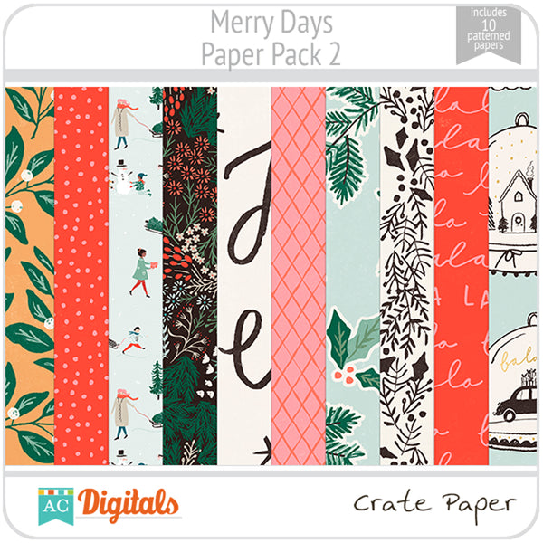Merry Days Paper Pack 2