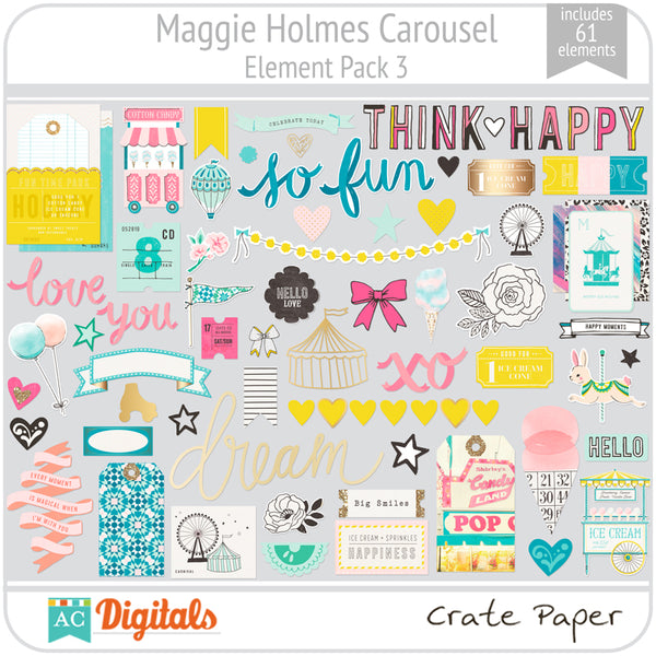 Maggie Holmes Carousel Element Pack 3