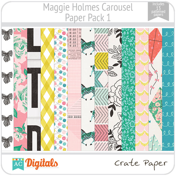 Maggie Holmes Carousel Paper Pack 1