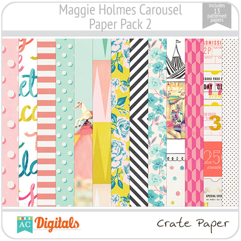 Maggie Holmes Carousel Paper Pack 2