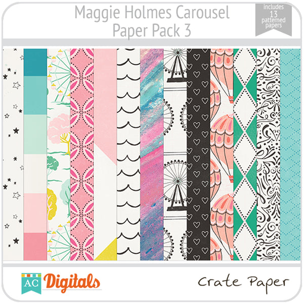 Maggie Holmes Carousel Paper Pack 3