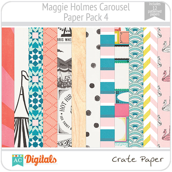 Maggie Holmes Carousel Paper Pack 4