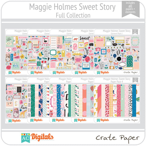 Maggie Holmes Sweet Story Full Collection