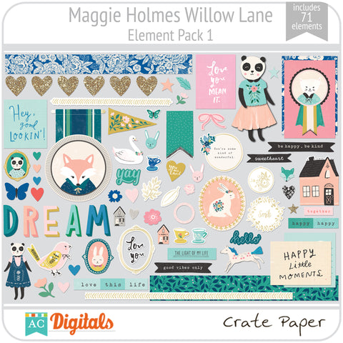 Maggie Holmes Willow Lane Element Pack 1