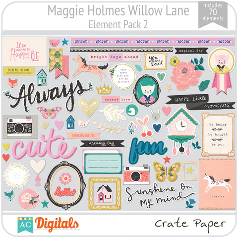 Maggie Holmes Willow Lane Element Pack 2