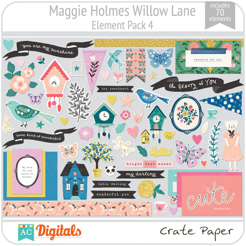Maggie Holmes Willow Lane Element Pack 4