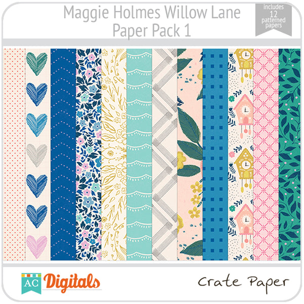 Maggie Holmes Willow Lane Paper Pack 1