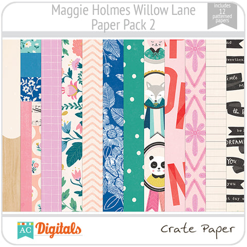 Maggie Holmes Willow Lane Paper Pack 2