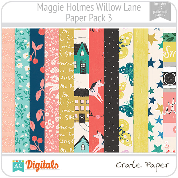 Maggie Holmes Willow Lane Paper Pack 3