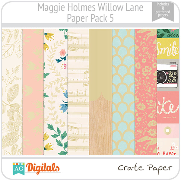 Maggie Holmes Willow Lane Paper Pack 5