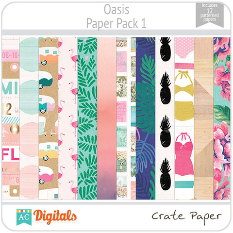 Oasis Paper Pack