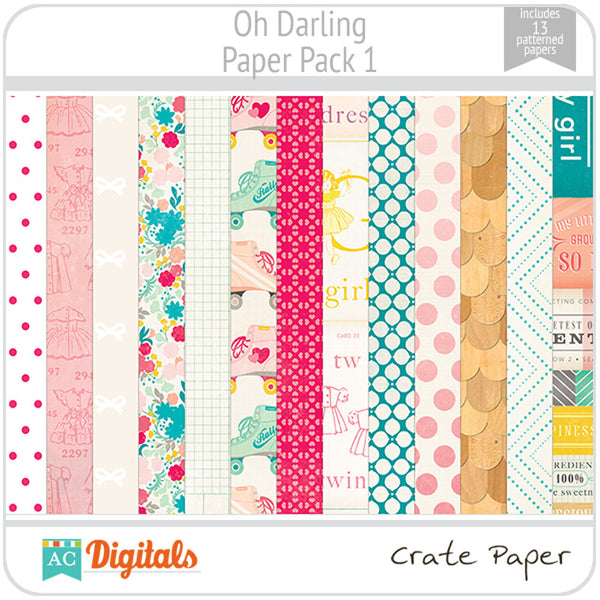 Oh Darling Paper Pack 1