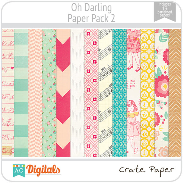 Oh Darling Paper Pack 2