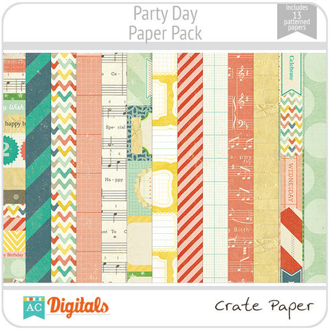 Party Day Paper Pack