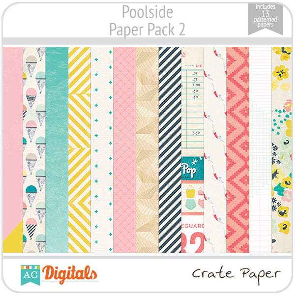 Poolside Paper Pack 2