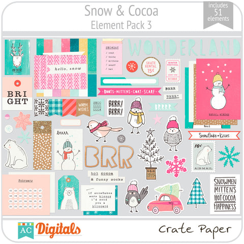 Snow & Cocoa Element Pack 3