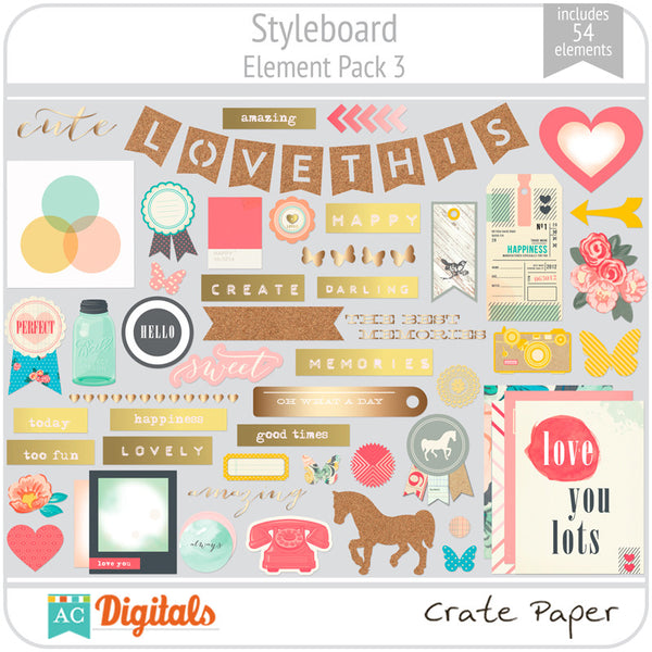 Styleboard Element Pack 3