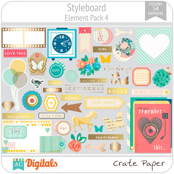 Styleboard Element Pack 4