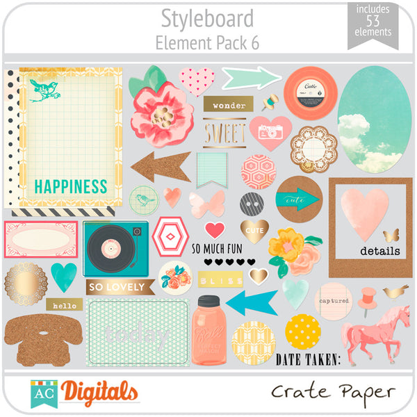 Styleboard Element Pack 6