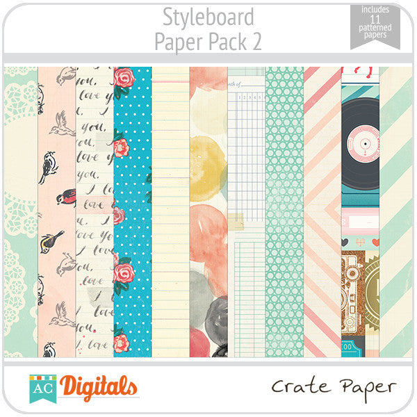 Styleboard Paper Pack 2