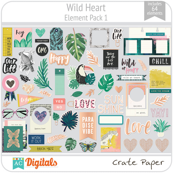 Wild Heart Element Pack 1