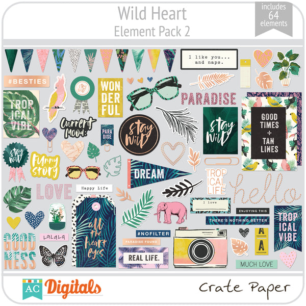 Wild Heart Element Pack 2