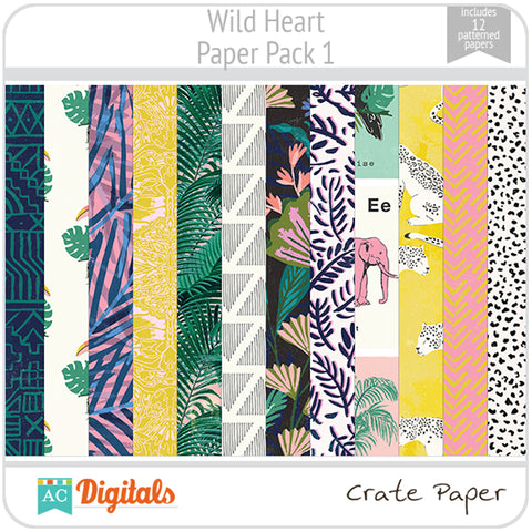 Wild Heart Paper Pack 1