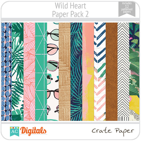 Wild Heart Paper Pack 2