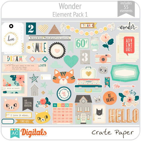 Wonder Element Pack 1