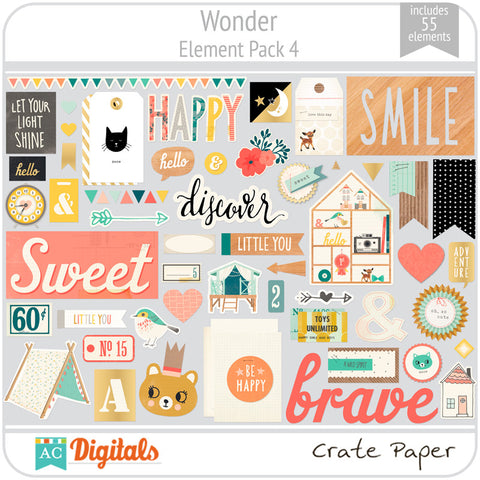 Wonder Element Pack 4
