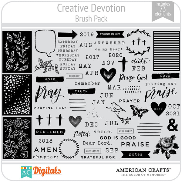 Creative Devotion Brushes