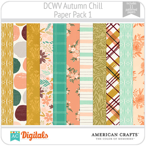 Autumn Chill Paper Pack 1