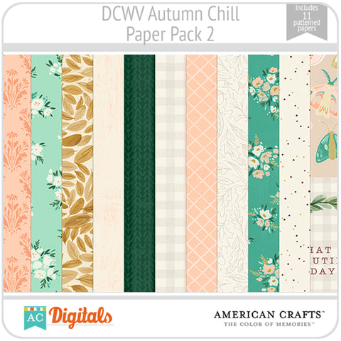 Autumn Chill Paper Pack 2