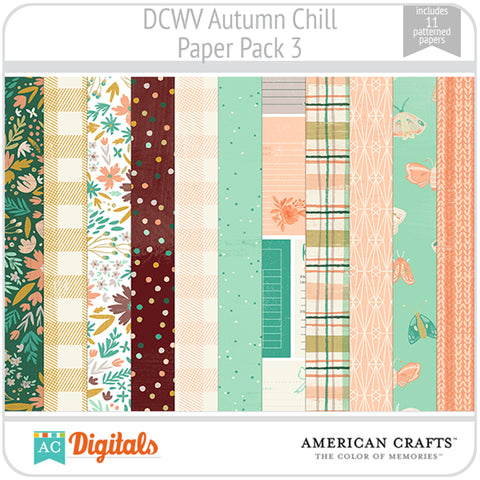 Autumn Chill Paper Pack 3