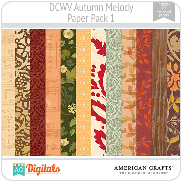 Autumn Melody Paper Pack 1