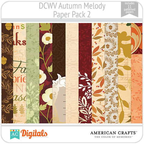 Autumn Melody Paper Pack 2