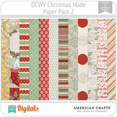 Christmas Made Paper Pack 2