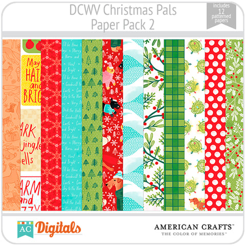 Christmas Pals Paper Pack 2