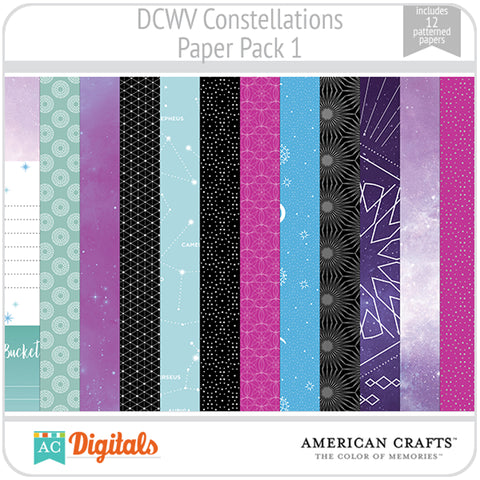 Constellations Paper Pack 1