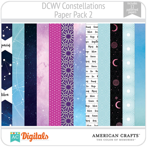 Constellations Paper Pack 2