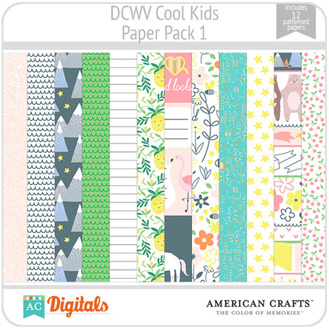 Cool Kids Paper Pack 1