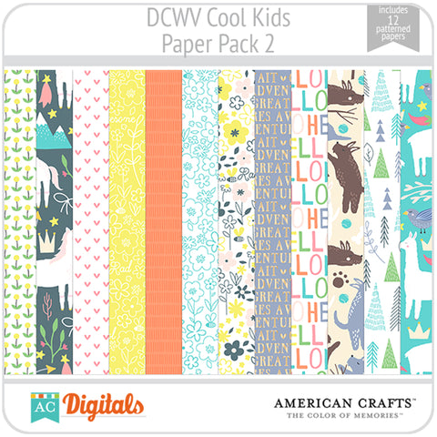 Cool Kids Paper Pack 2