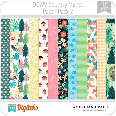 Country Manor Paper Pack 2