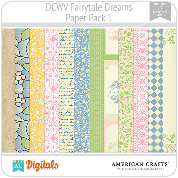Fairytale Dreams Paper Pack 1