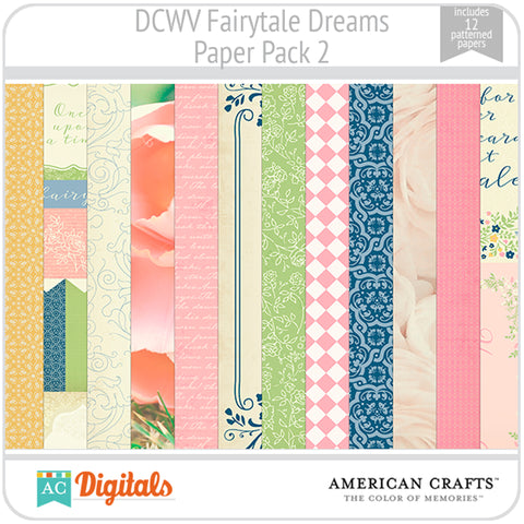 Fairytale Dreams Paper Pack 2