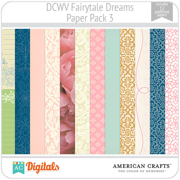 Fairytale Dreams Paper Pack 3