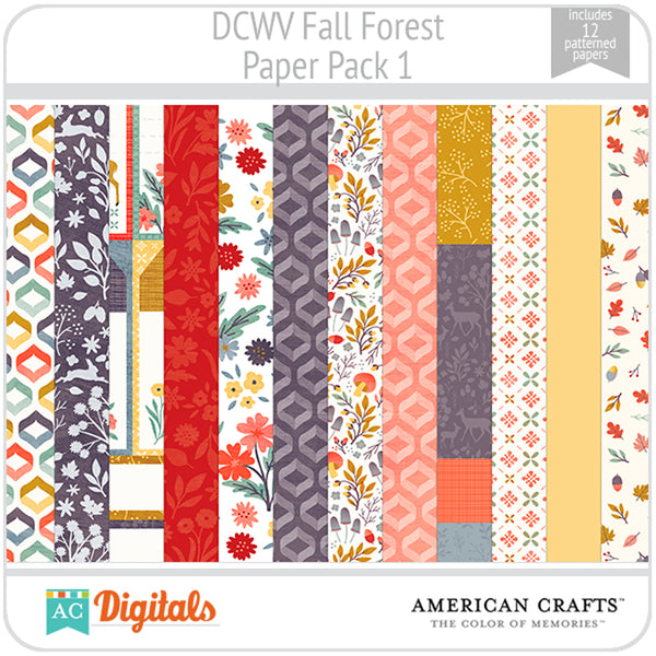Fall Forest Paper Pack 1